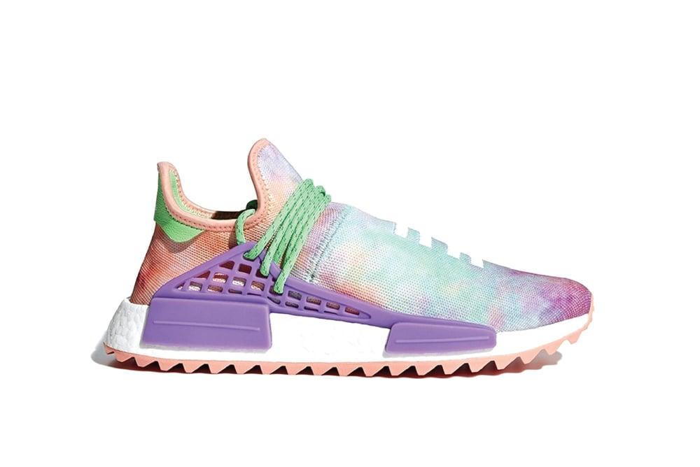 Image of adidas Human Race NMD Pharrell Holi Festival (Chalk Coral) AC7034
