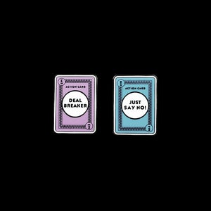 Image of Dealer Cards Pins