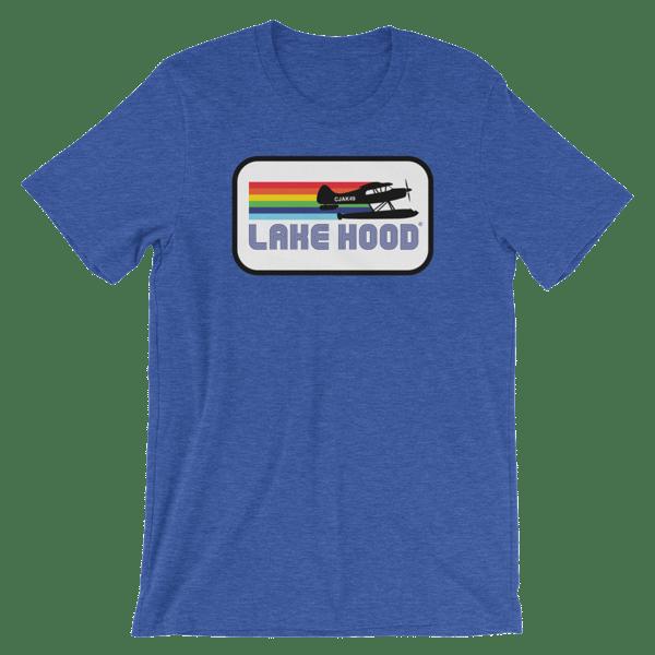Image of Lake Hood Retro Style Tees - Unisex