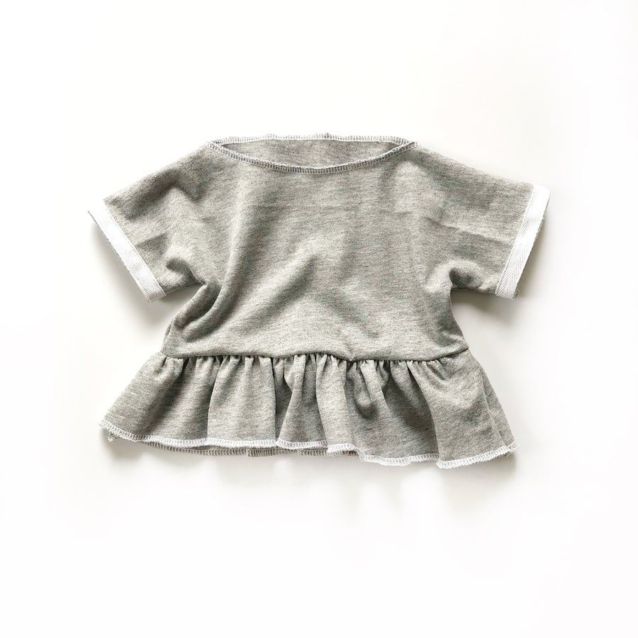 Image of Margo Top in T-shirt Grey