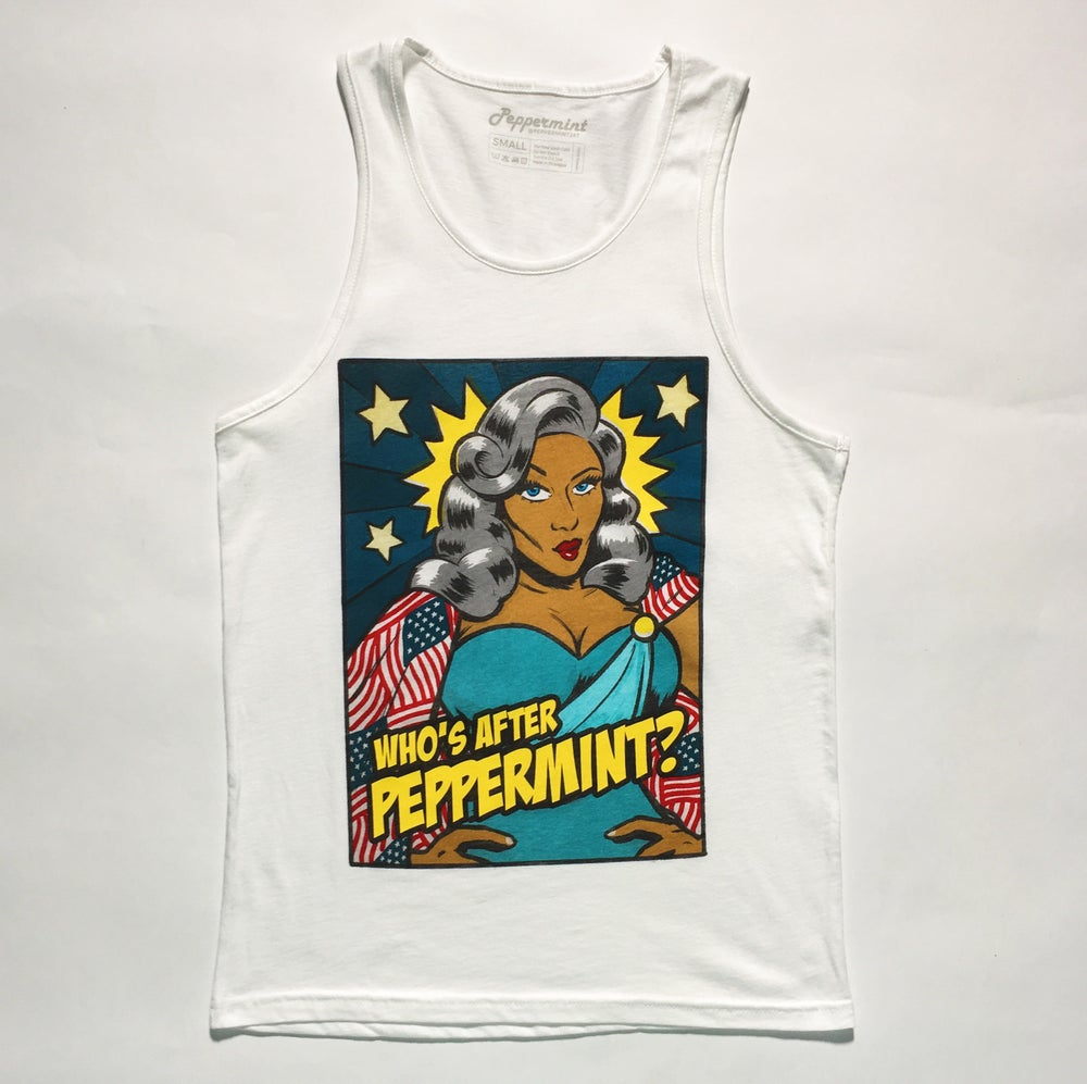 Image of ON-SALE - Who's After Peppermint Tank