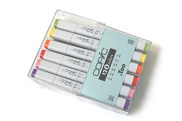 Image of Copic 12 B Colours