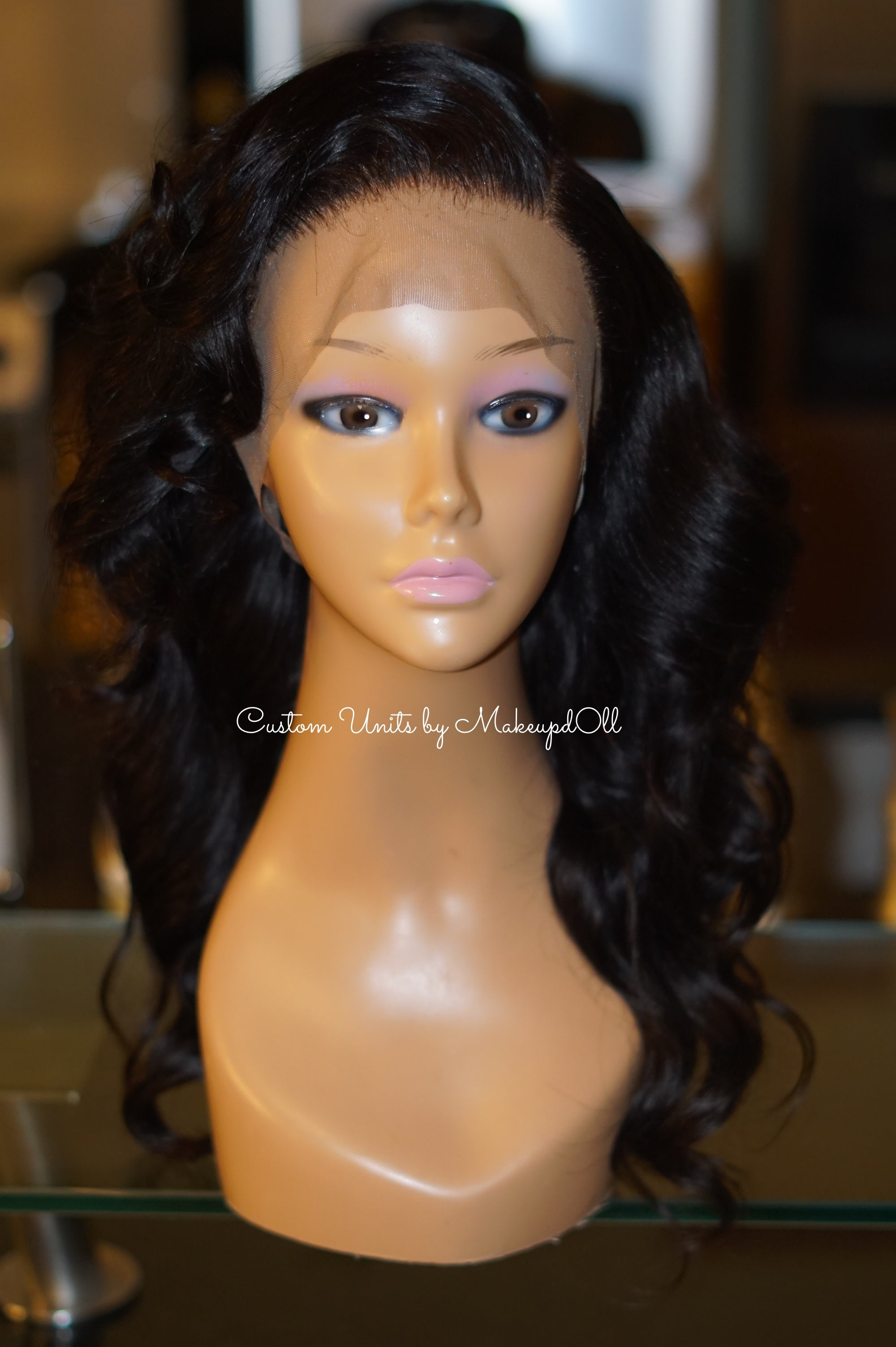 "Image of Brazilian Body Wave 16"" Custom Lace Frontal Wig!"