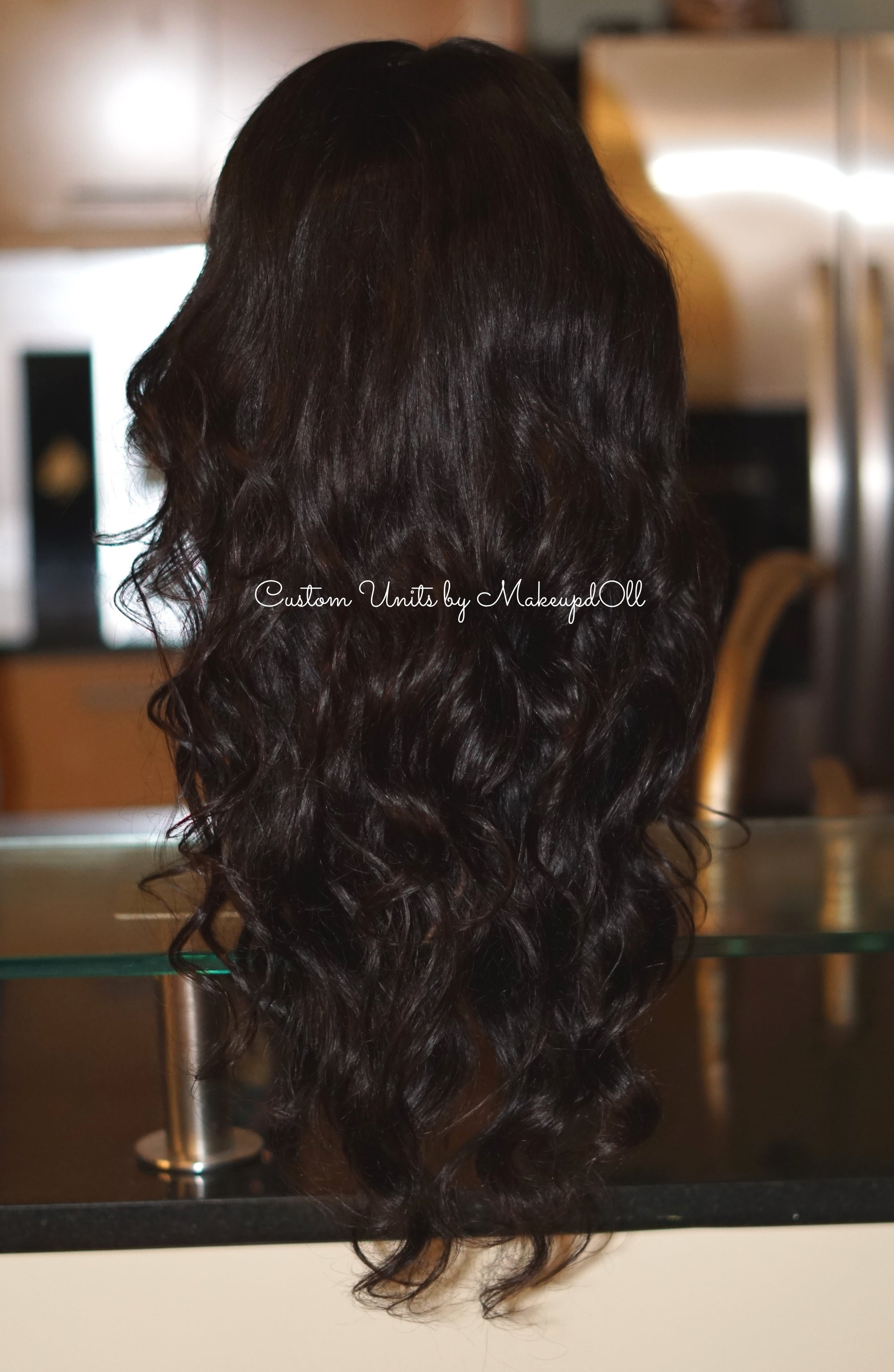 "Image of Peruvian Body Wave 24"" Lace Closure Wig!"
