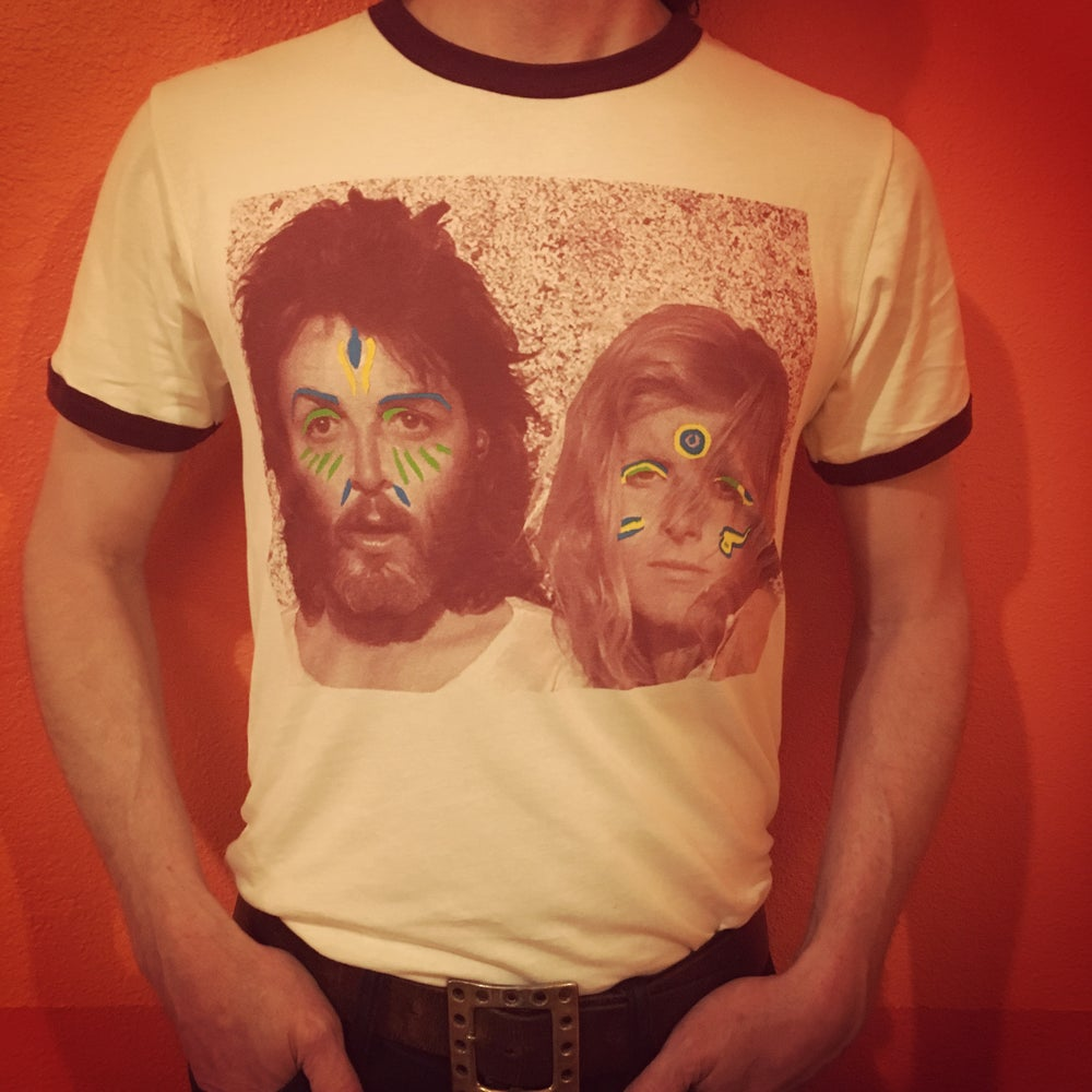 Image of Paul & Linda ringer tee