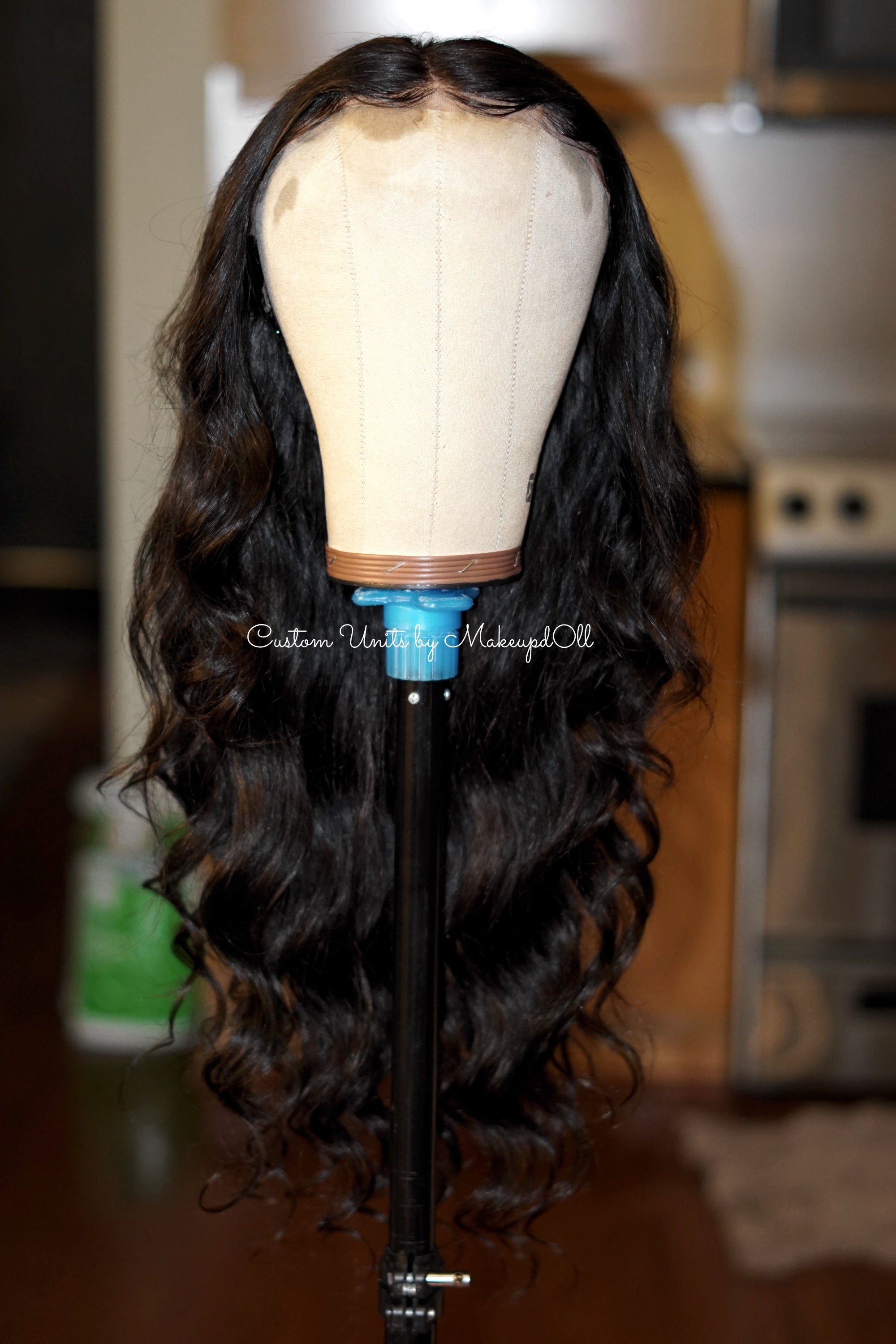 "Image of Brazilian Body Wave 24"" Custom Frontal Wig!"