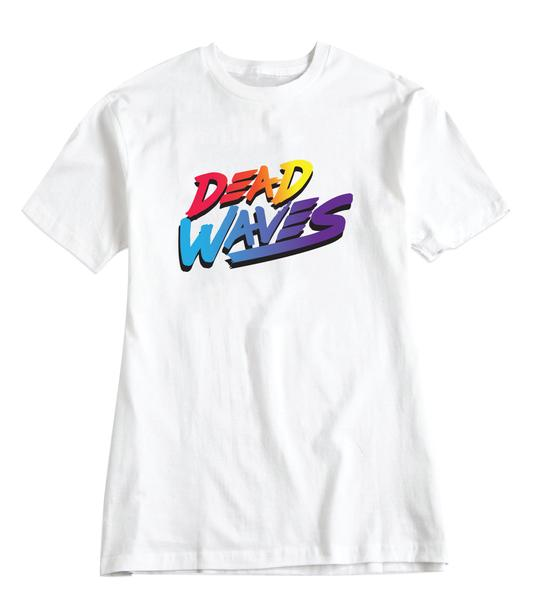 Image of SURF IS DEAD - RAD TEE (WHITE)
