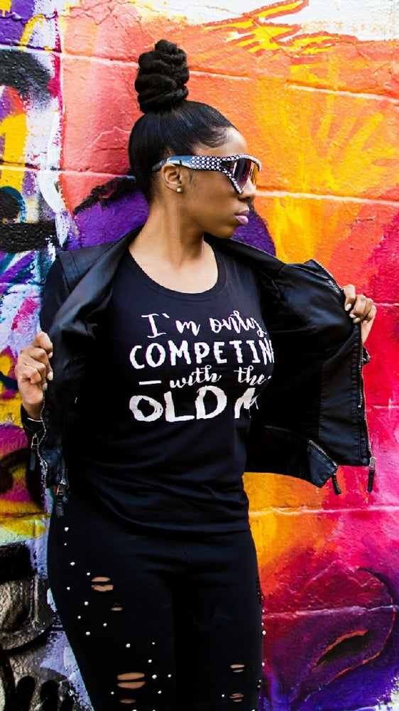 "Image of ""I'm Only Competing With the Old ME"" Tee"