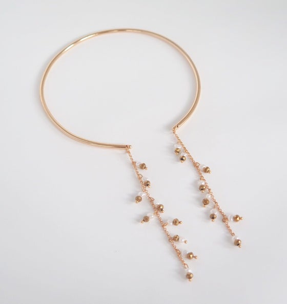 Image of Lucky Pearls Chocker