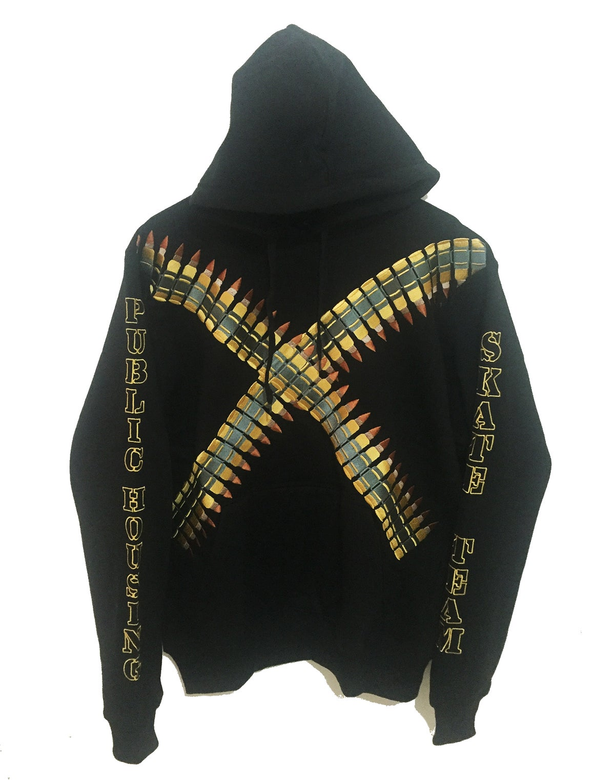 """Image of """"PHST BULLET HOODIE"""" EMBROIDERED"""
