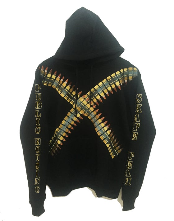 "Image of ""PHST BULLET HOODIE"" EMBROIDERED"