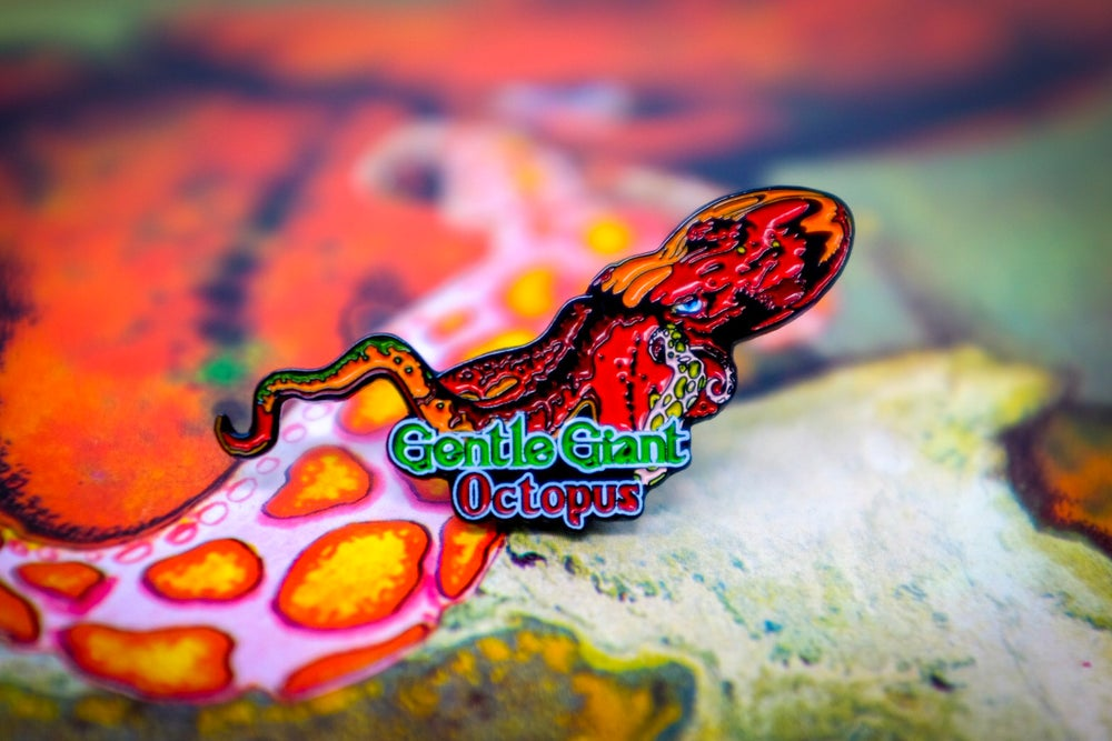Image of Gentle Giant - Octopus Enamel Pin