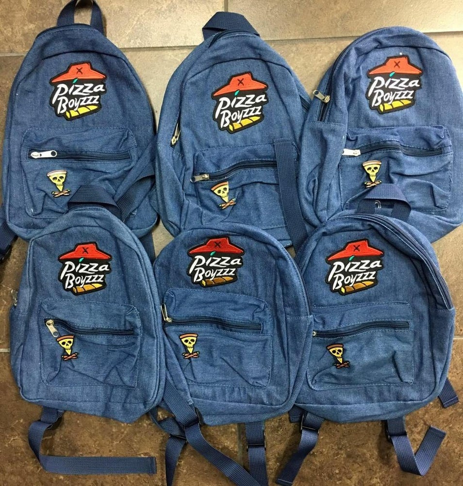 Image of Pizzaboyzzz mini backpack