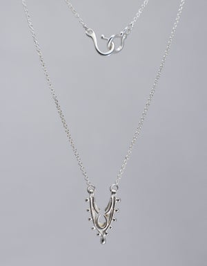 """Image of Small """"Fragment"""" Arch Pendant Necklace"""