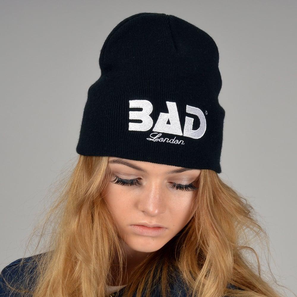 Bad Clothing London Designer Couture Urban Street Wear and Fitness Fashion Premium Unisex Beanie Hat