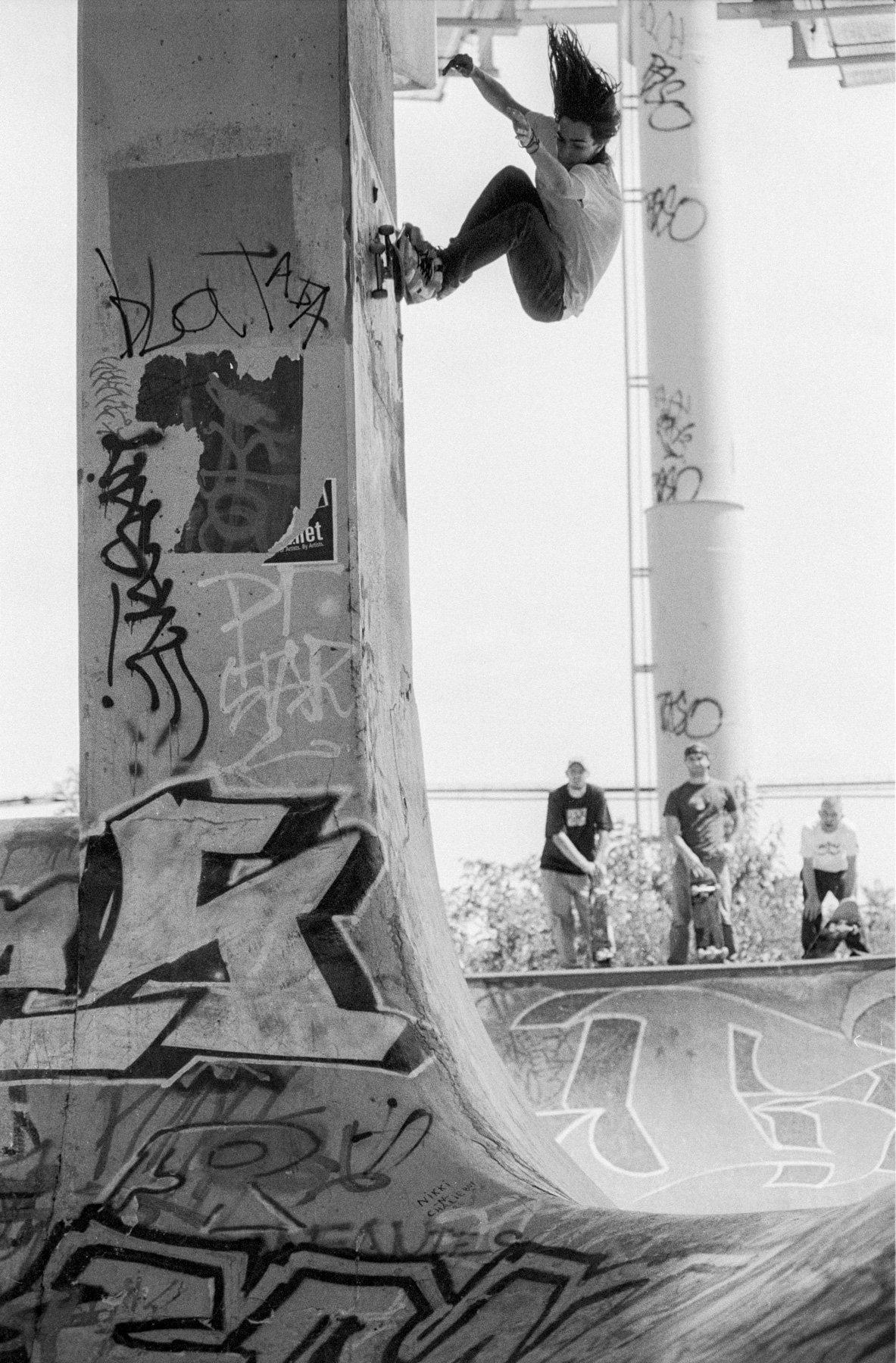 Image of Tony Trujillo, Wall Ride FDR Philadelphia 2003