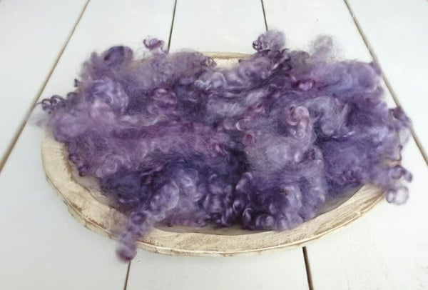 Image of Shades of Lavender / Cranberry - LOOSE CURLS