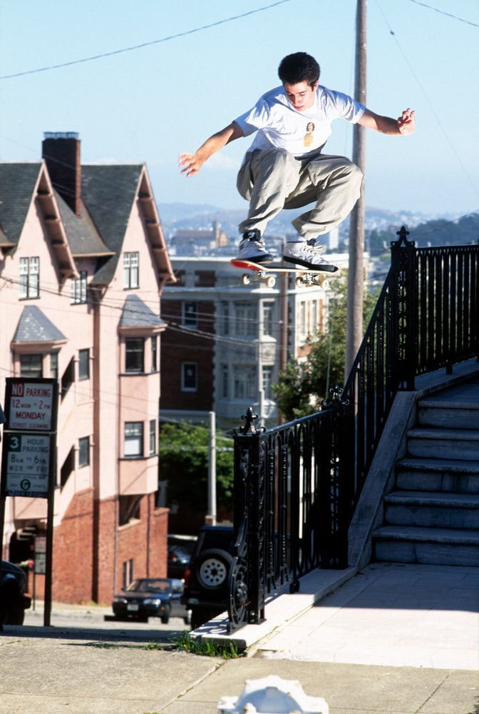 Mike Carroll, San Francisco 1996,  by Tobin Yelland