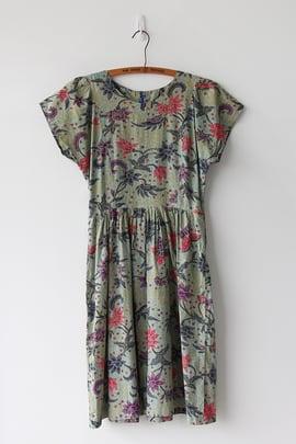 Image of SOLD Batik Print Cotton Dress