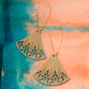 "Image of ""RATTAN"" EARRINGS"