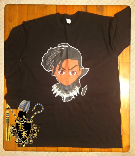 Image of KILLMONGER/RILEY COLOR TSHIRT