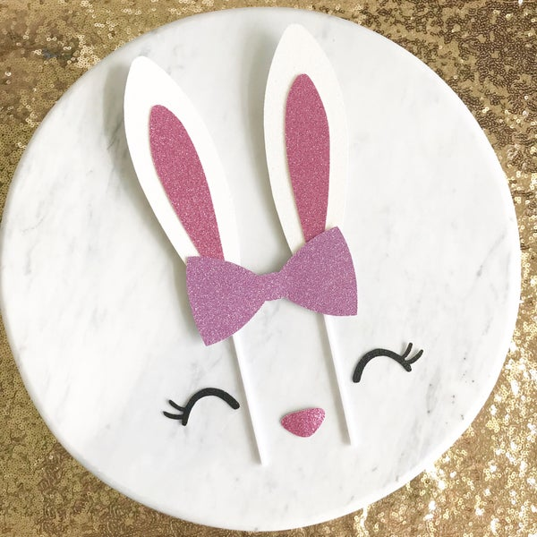 Image of Bunny Cake Topper