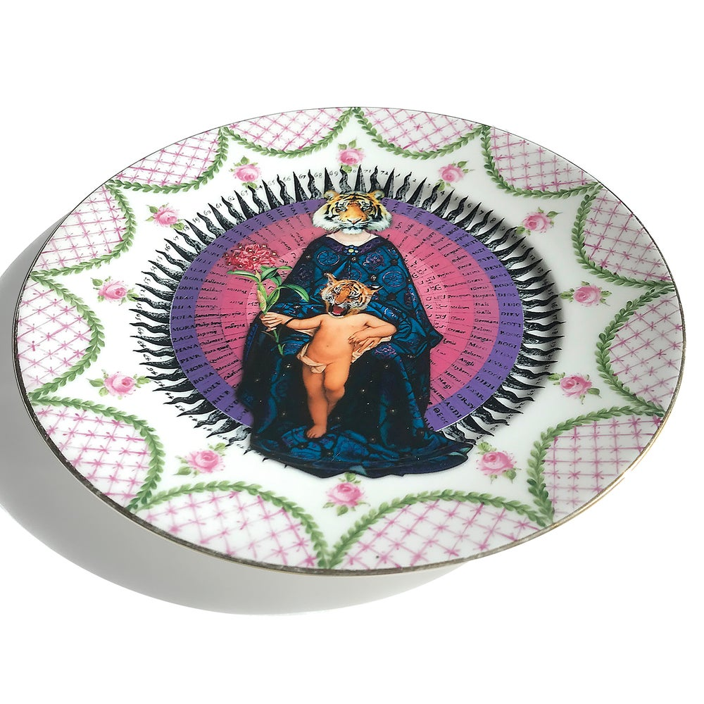 Image of Tigresa - La Seynie Limoges P and P France - More than 100 Years Antique #0526