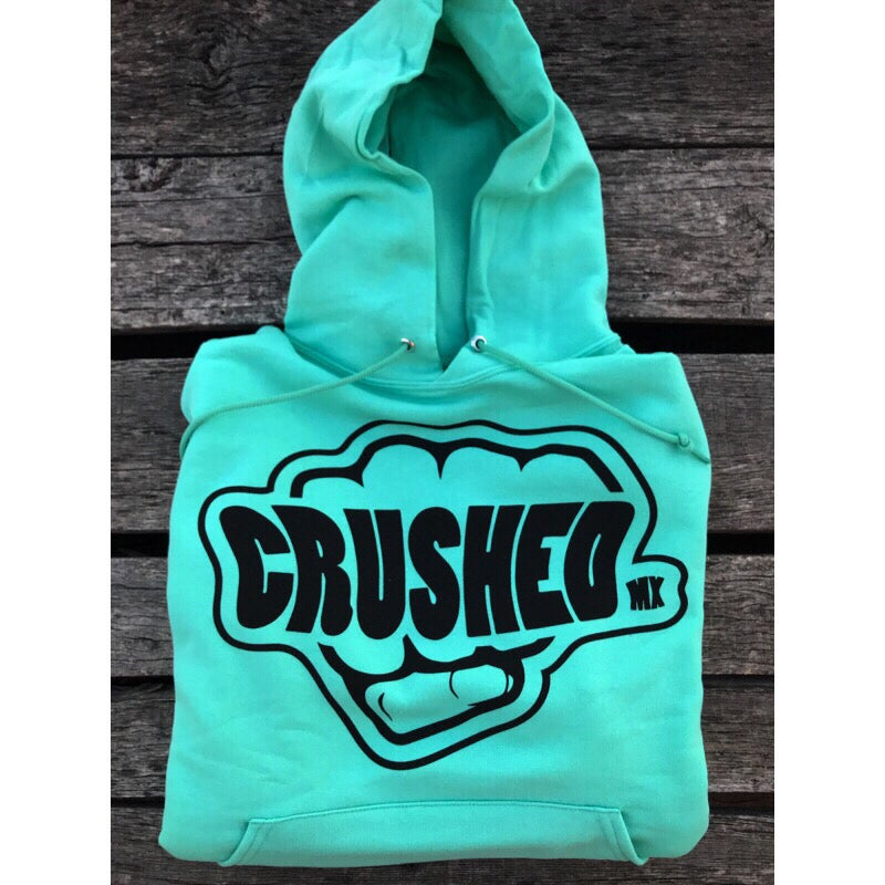 Image of Mint Crushed MX Hoodie