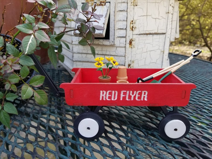 Image of The Little Red Wagon