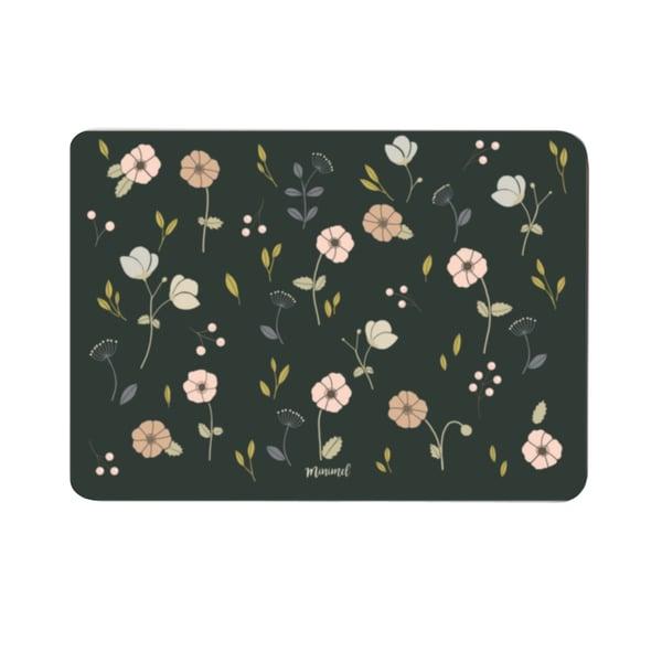 Image of Carte Anémones kaki/ Khaki anemones card