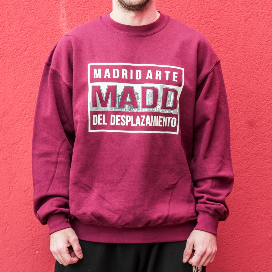 Image of MADD ORIGINAL CREWNECK - GRANATE