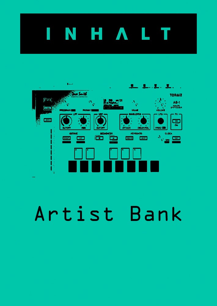 Image of INHALT Toraiz AS-1 Artist Bank