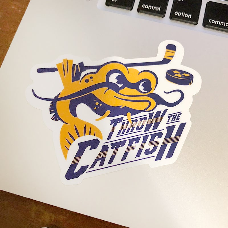 Image of Throw the Catfish Sticker 2 Pack