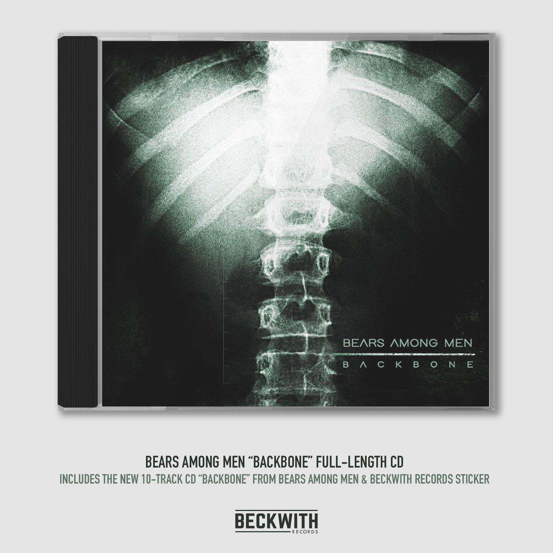 """Image of Bears Among Men """"Backbone"""" CD"""