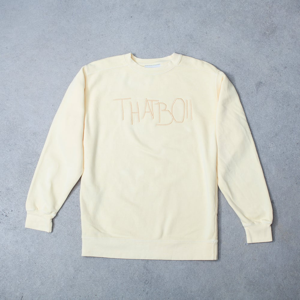 Image of THATBOII SWEATER - YELLOW