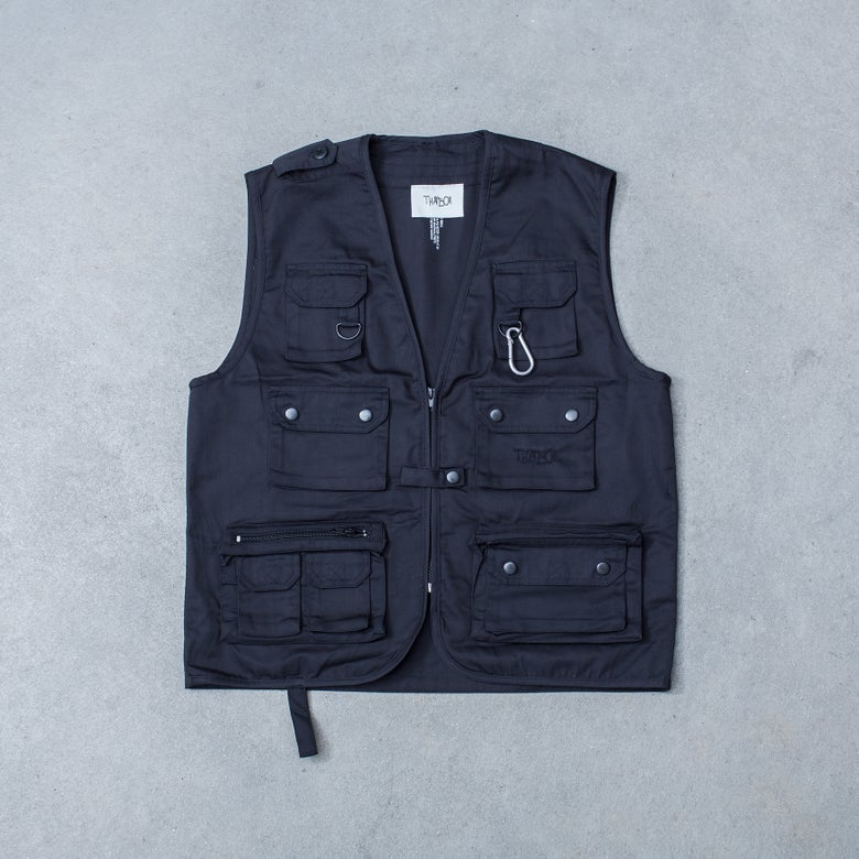 Image of THATBOII VEST - BLACK