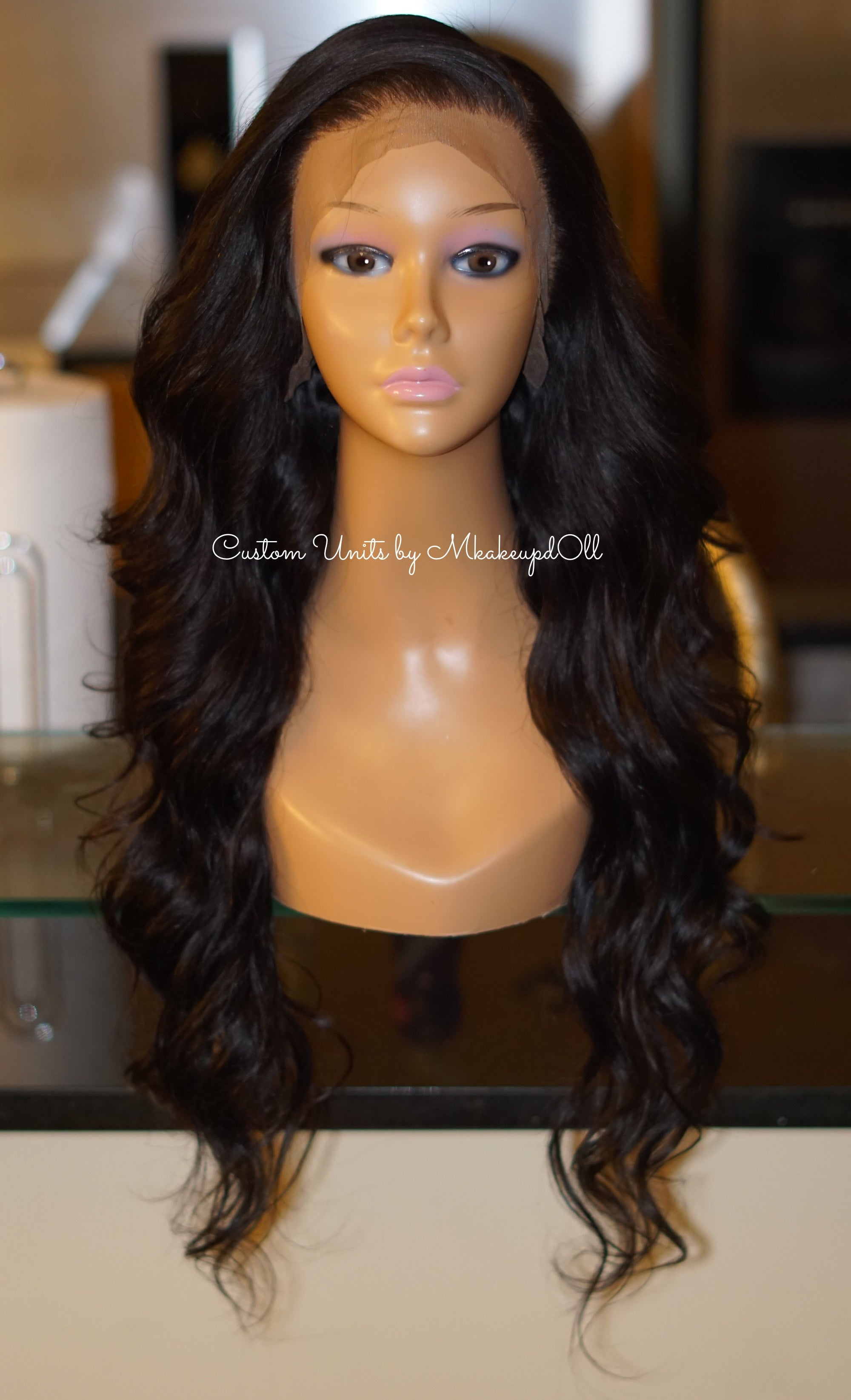 "Image of Brazilian Body Wave 26"" Lace Frontal Wig!"
