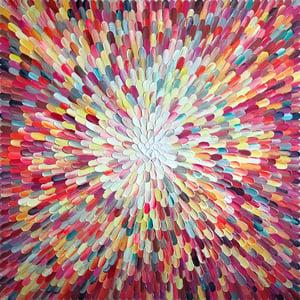 Image of 'Universum Sol' - 101x101cm
