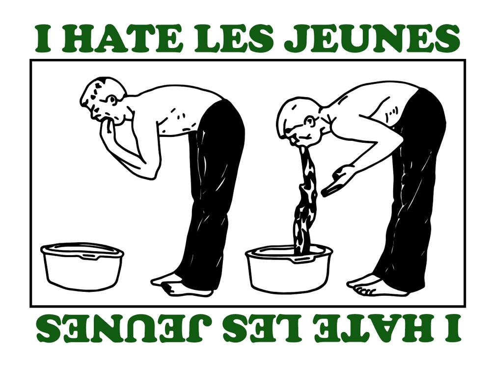 Image of I Hate Les Jeunes Tee