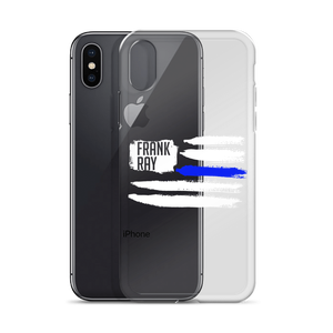 Image of Thin Blue Line iPhone Case