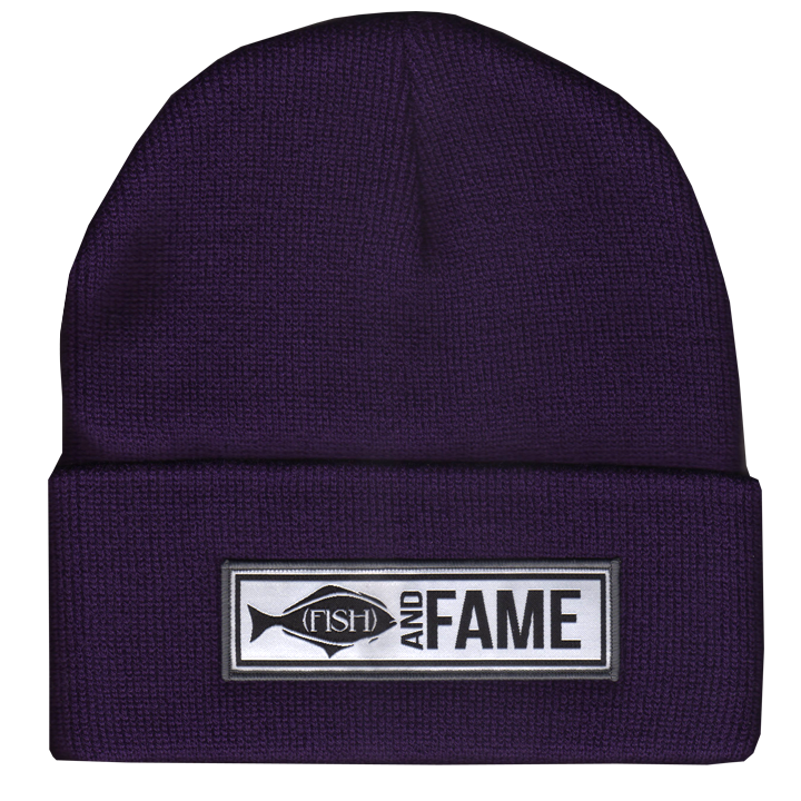 Image of Halibut - Type Patch Beanie (assorted)