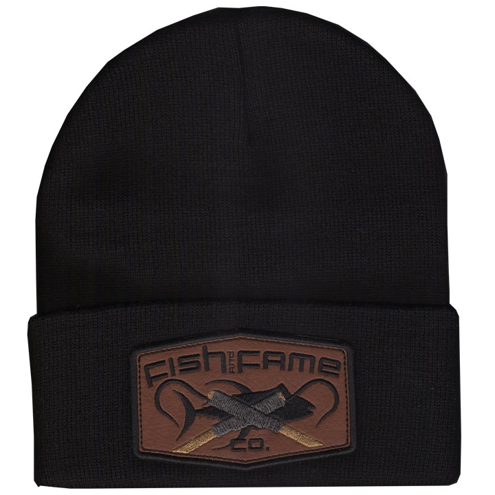 Image of LEATHER ORIGINATOR GAFF® Patch Beanie (assorted)