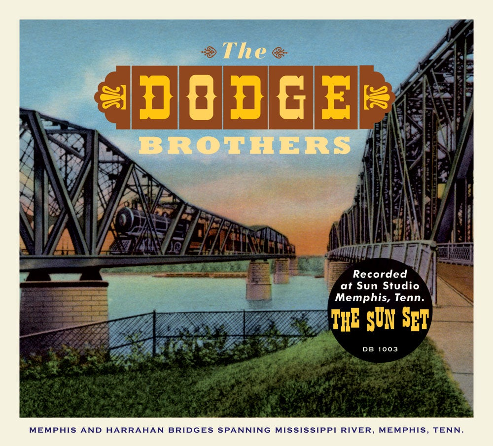"""Image of The Dodge Brothers """"The Sun Set"""" CD"""