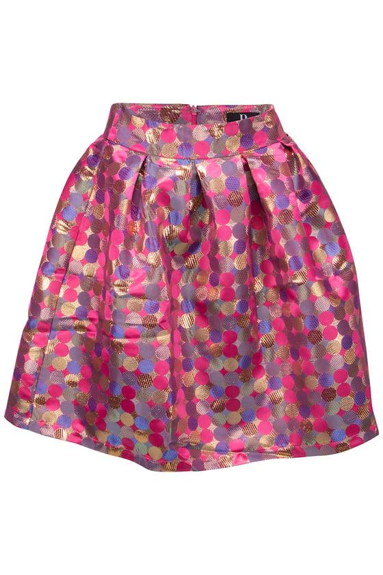 Image of Prikket nederdel