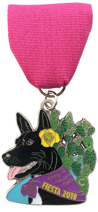 2018 Dog Fiesta Medal 2019 Fiesta Medals The Cannoli Fund