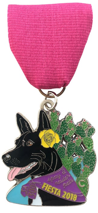 Image of 2018 Dog Fiesta Medal