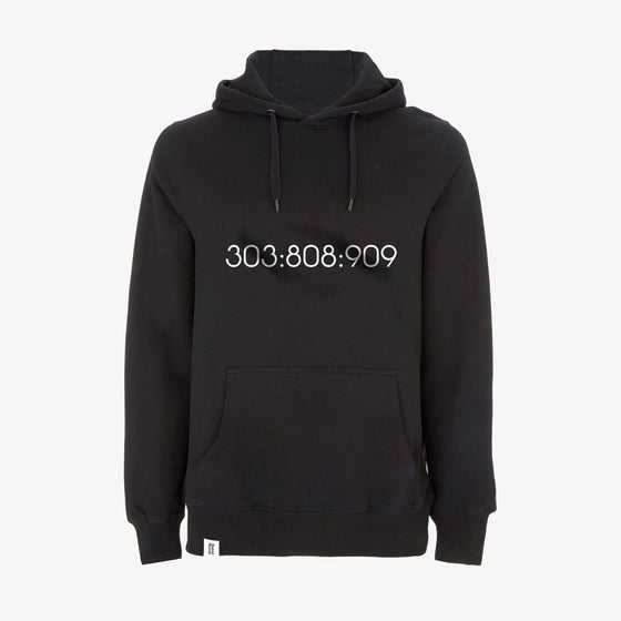 Image of SAMPLE 303:808:909 Pullover Hoody in Black