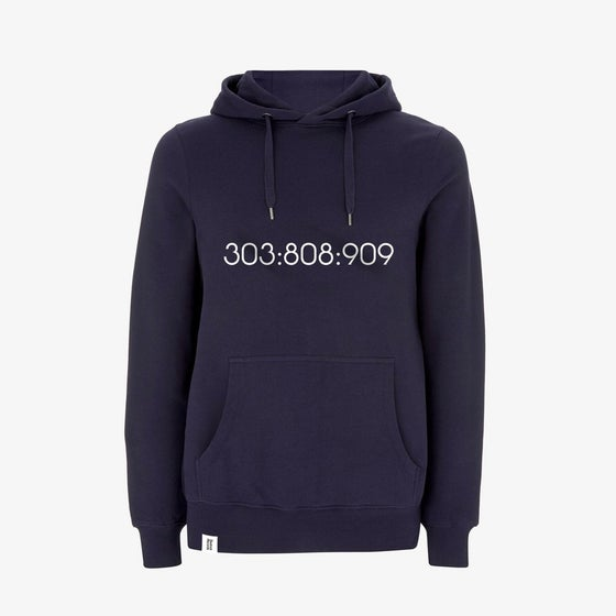 Image of SAMPLE 303:808:909 Pullover Hoody in Navy