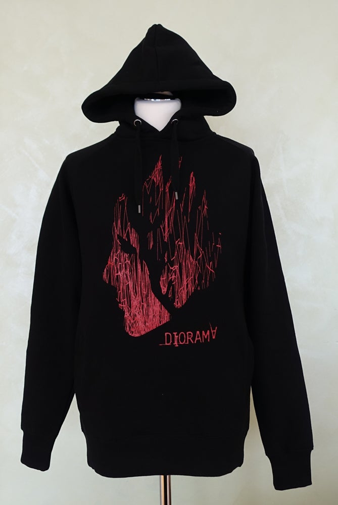 Image of diorama hoody crickl crackl mask red