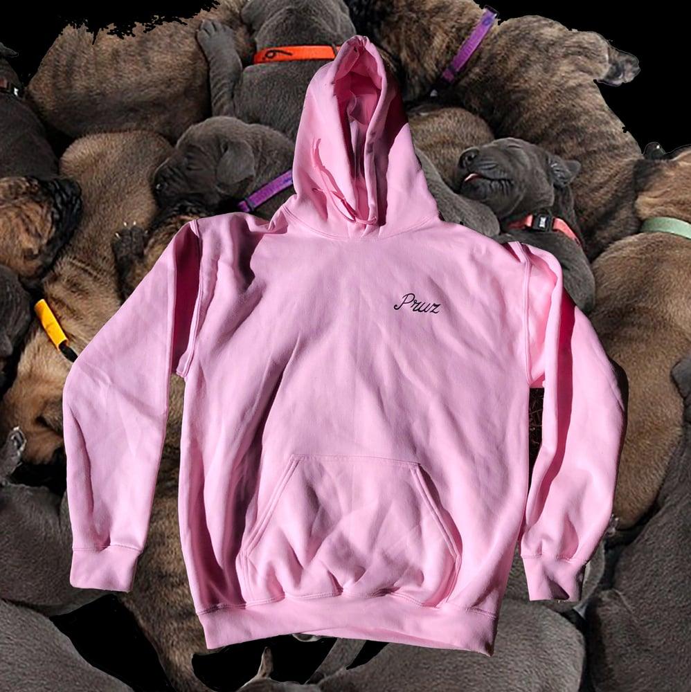 Image of Pink Rottweiler Hoodie